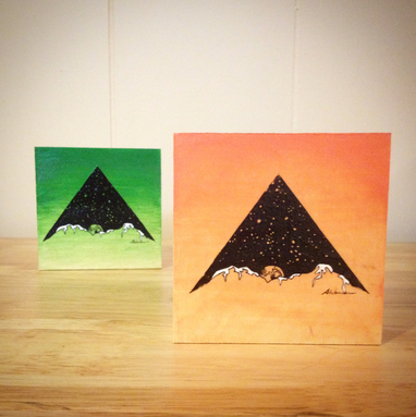 Little Moonrise Paintings